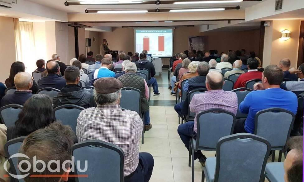 Foto del encuentro en Ávila