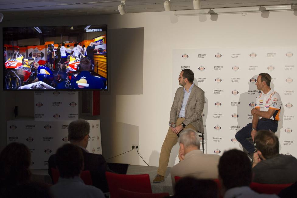 Samsung lleva el 8K por primera vez a una retransmisión deportiva en España
