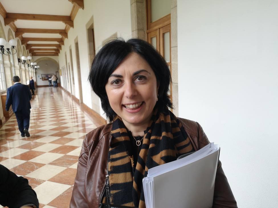 Elena Candia, presidenta provincial del Partido Popular en Lugo
