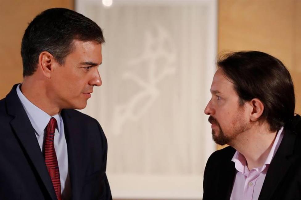 Sánchez e Iglesias constatan que no ceden en sus condiciones para la investidura
