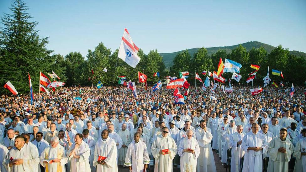 Más de 50.000 personas acudieron al Festival de Jovenes de Medjugorge en su 30ª edición