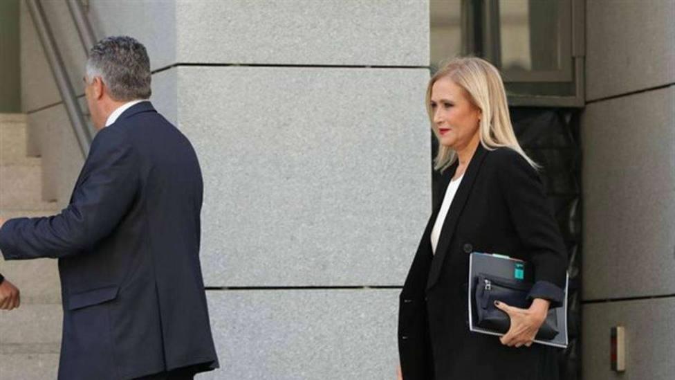 El juez de la Púnica interrumpe la declaración de Cristina Cifuentes para evitar ser oída por los periodistas