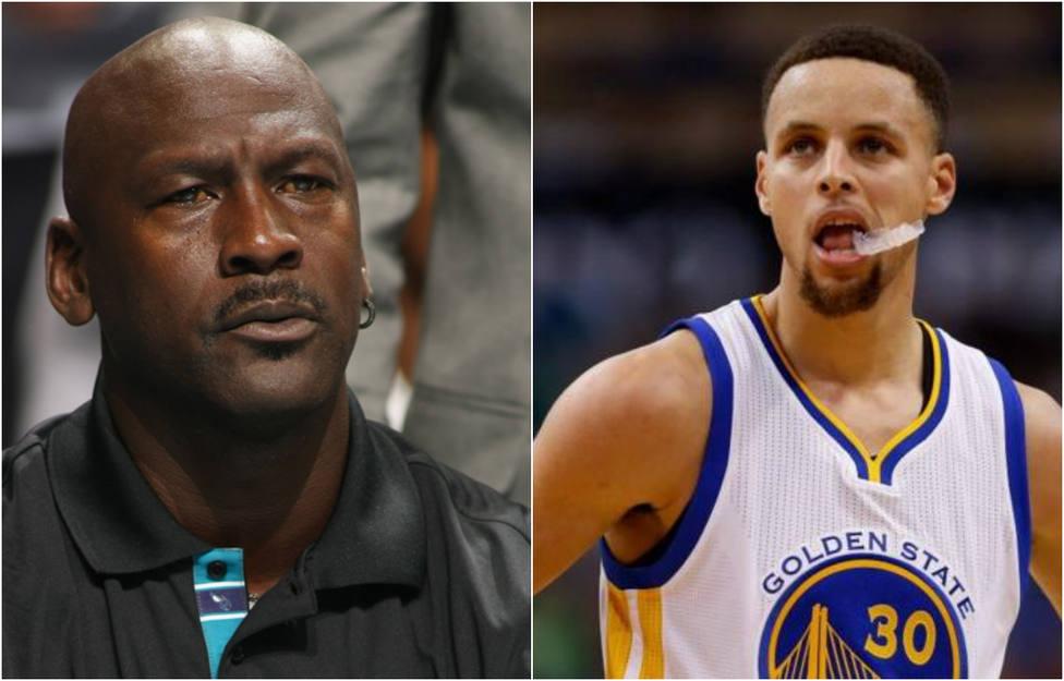 """La advertencia de Michael Jordan a Stephen Curry: """"Aún no eres un miembro del Salón de la Fama"""""""