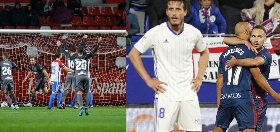 Sporting y Oviedo llegan al derbi tras perder en la última jornada.