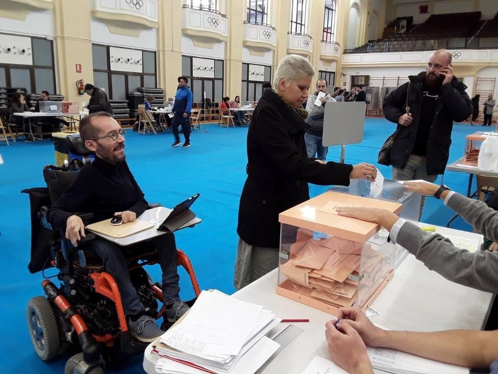 Echenique (Unidas Podemos) tiende la mano al PSOE: Lo que antes era una oportunidad, ahora es una necesidad