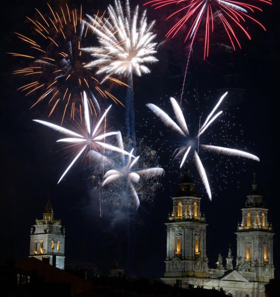 Piden que se limite la pirotecnia en Lugo a los primeros 15 minutos de Año Nuevo