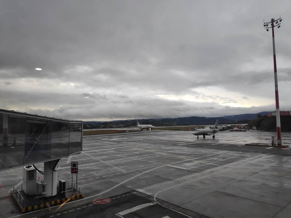 Aviones en Alvedro