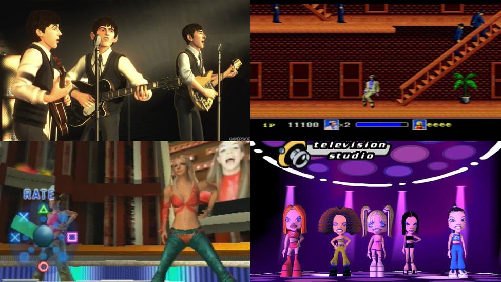 Seis videojuegos sobre cantantes que allanaron el camino a Andy y Lucas