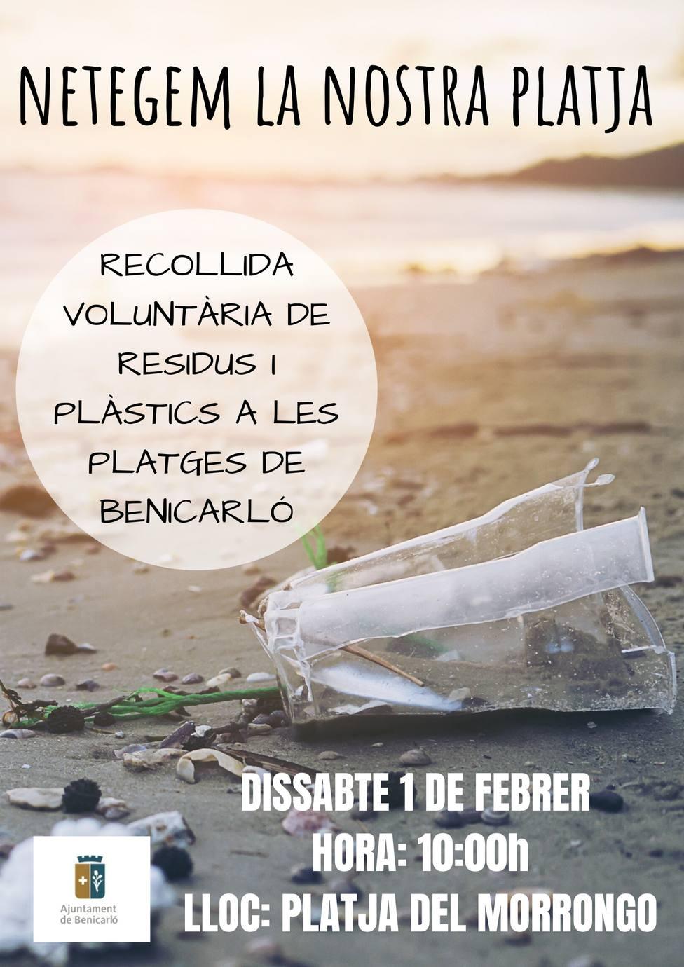 Recogida residuos playas