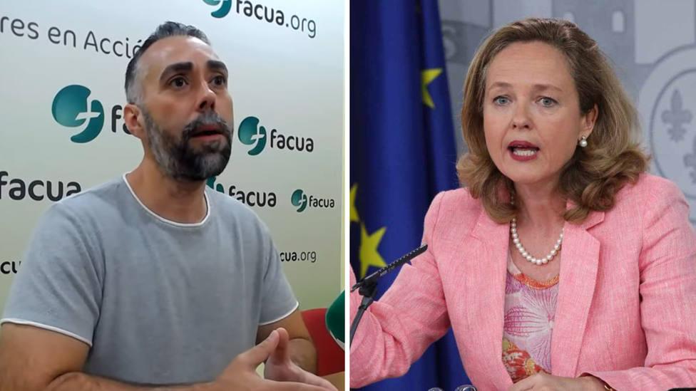 """El portavoz de FACUA acusa a la ministra de Economía Nadia Calviño de ser: """"La derecha dentro del Gobierno"""""""