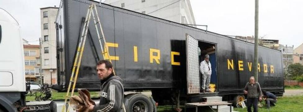 El circo extremeño confinado en Monforte agradece la solidaridad del pueblo con funciones gratis