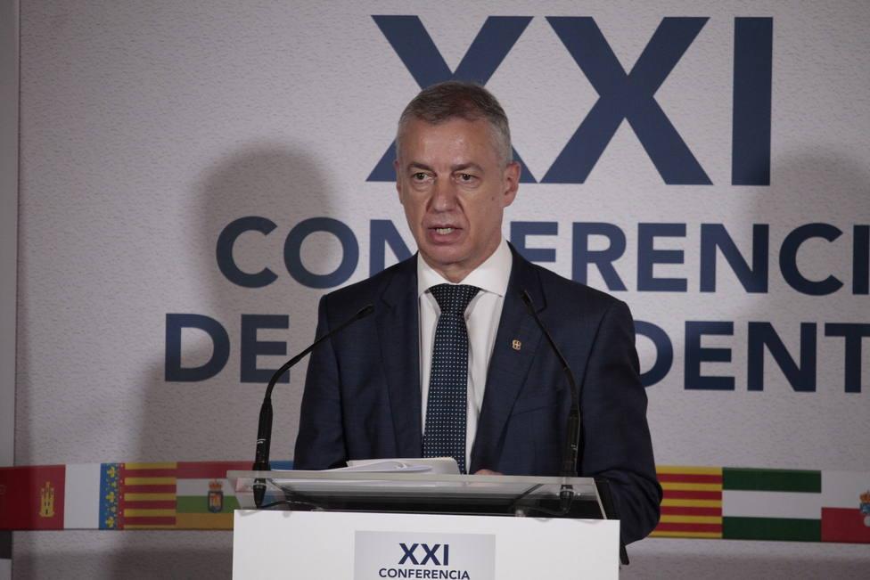 Urkullu niega que haya habido una negociación a la carta entre los gobiernos central y vasco