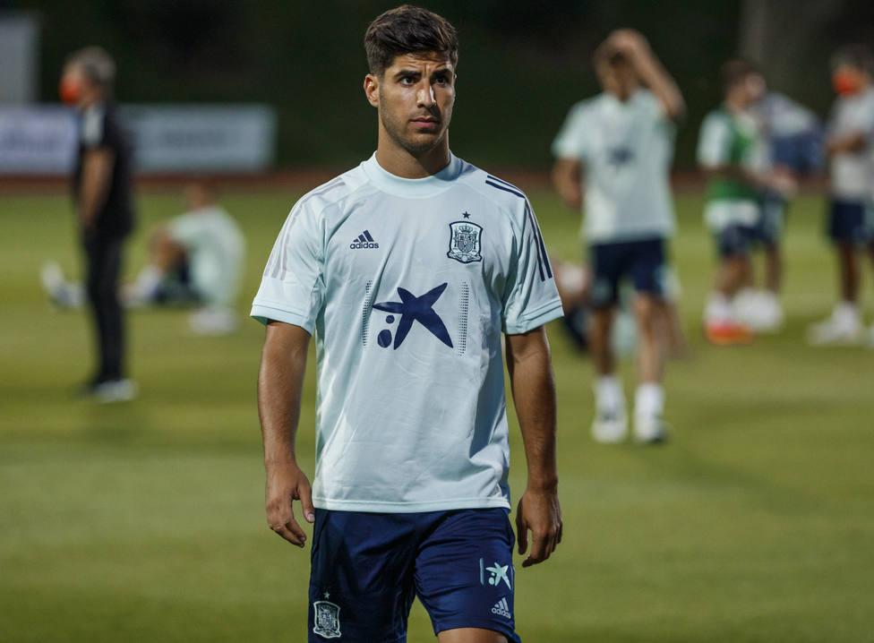 Marco Asensio, jugador de la selección española (@sefutbol)