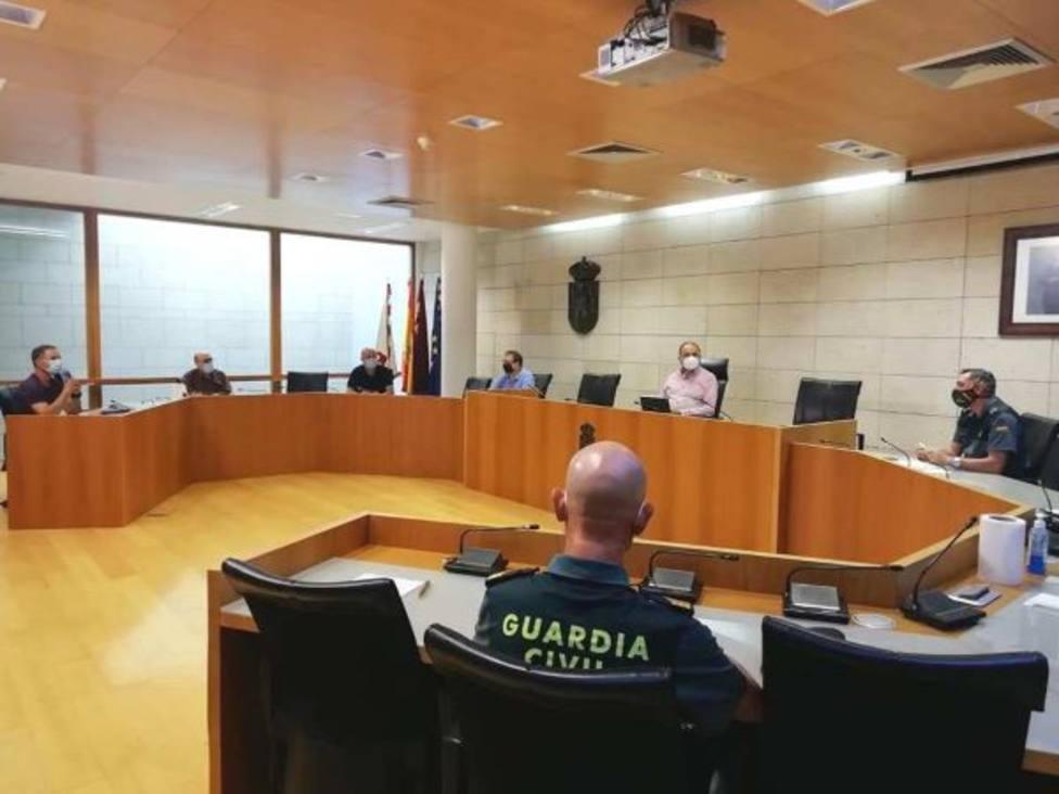 La Mesa Local de Coordinación y Seguimiento del COVID-19 acuerda establecer controles policiales aleatorios