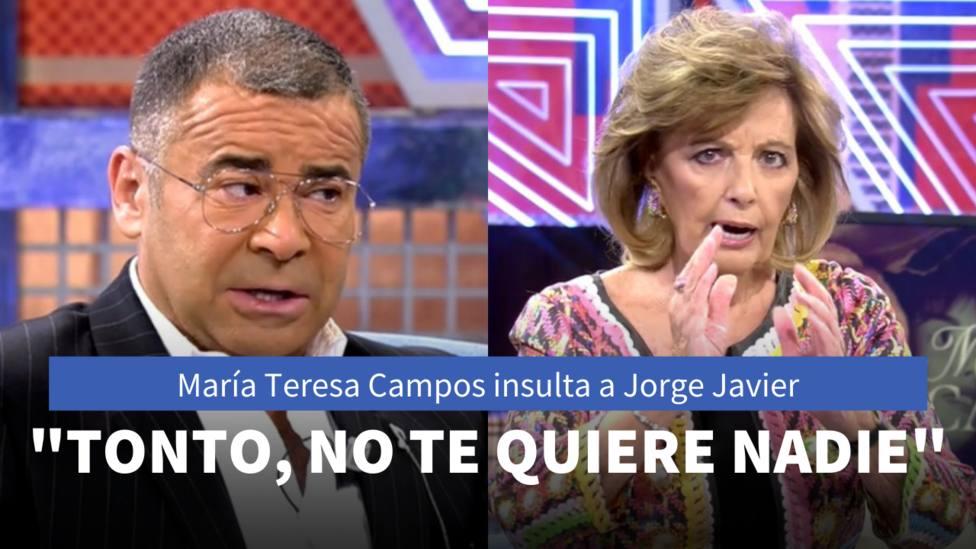 Jorge Javier vázquez y María Teresa Campos (Telecinco)