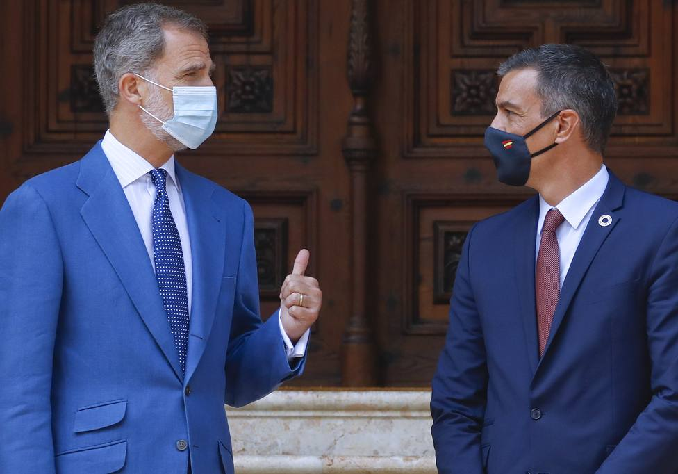Felipe VI y Sánchez se renúnen con motivo del Cervantes días antes de su viaje a Barcelona