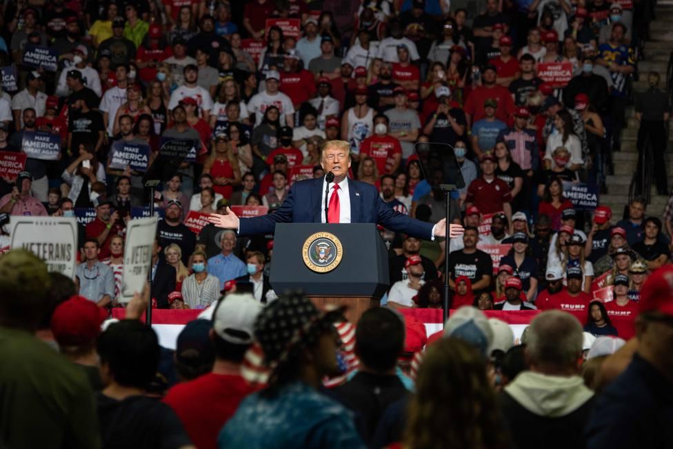 Trump hará una quincena de mítines antes de poner fin a su campaña electoral de cara a las presidenciales