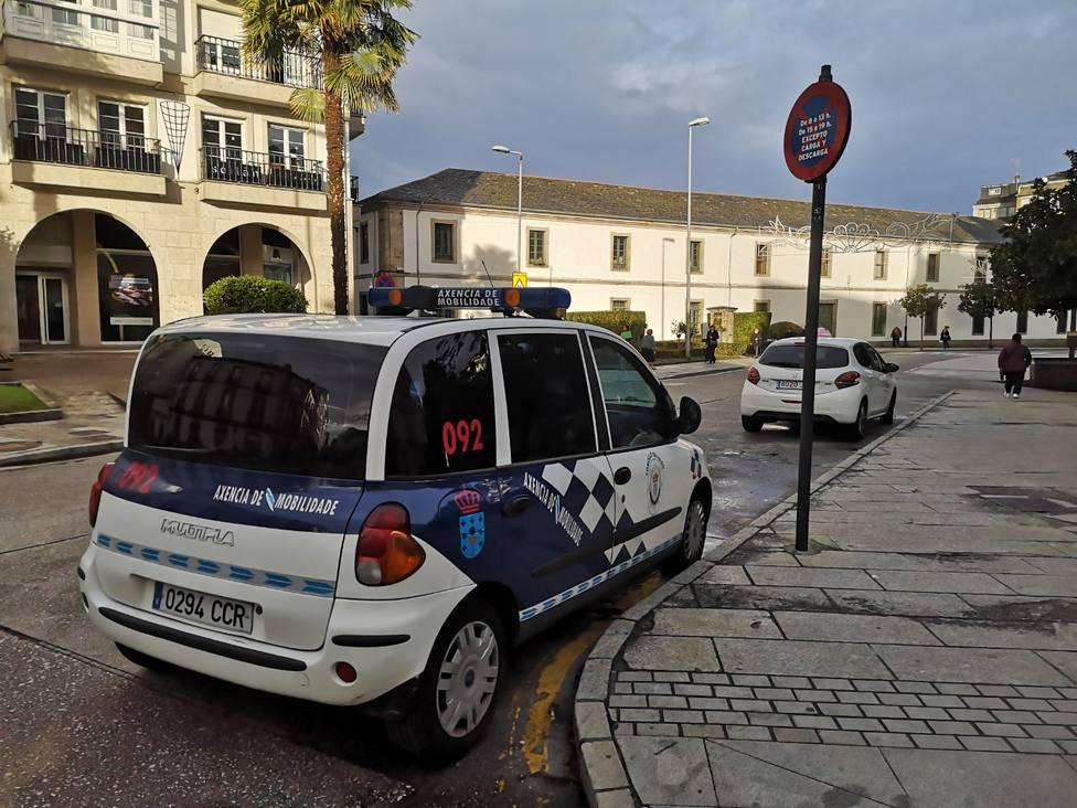 Vehículo oficial de la Policía Local de Lugo