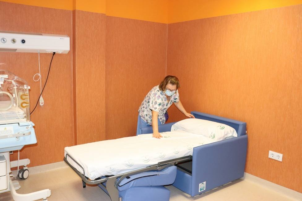 Sillones cama en pediatría