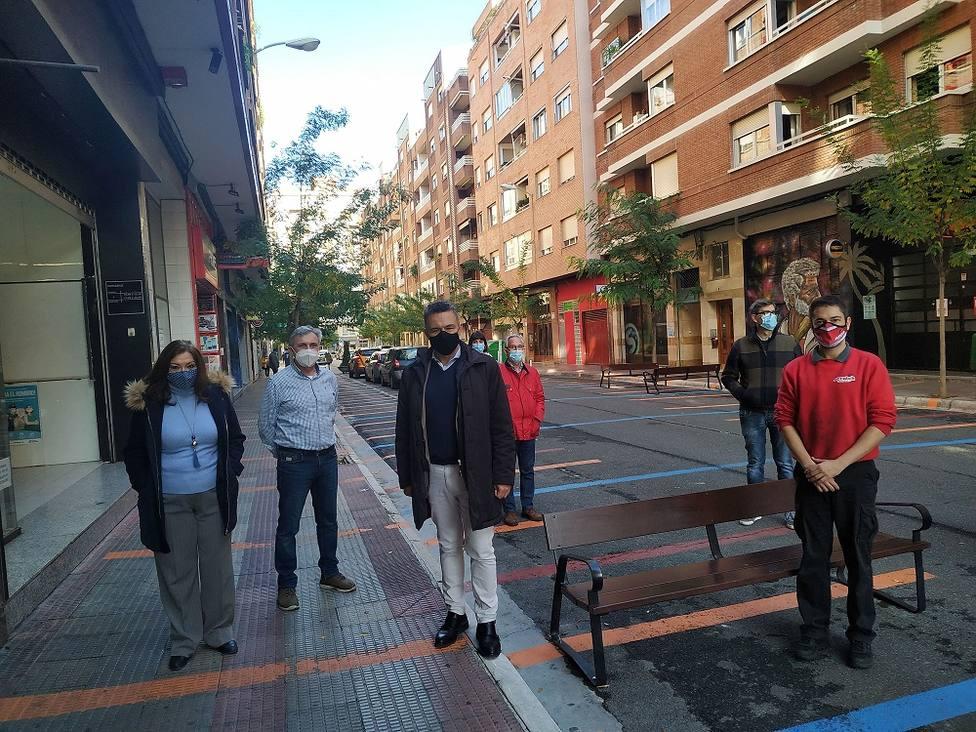 Comerciantes de la calle Fundición creen que la actuación del Gobierno local les ha quitado clientes