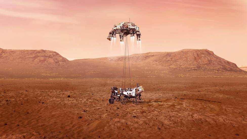 Sigue en directo el aterrizaje en Marte de la nave de la NASA Perseverance