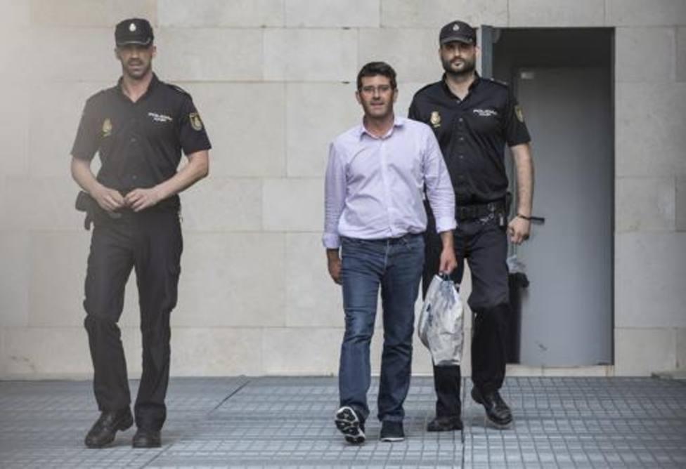 Jorge Rodríguez tras prestar declaración