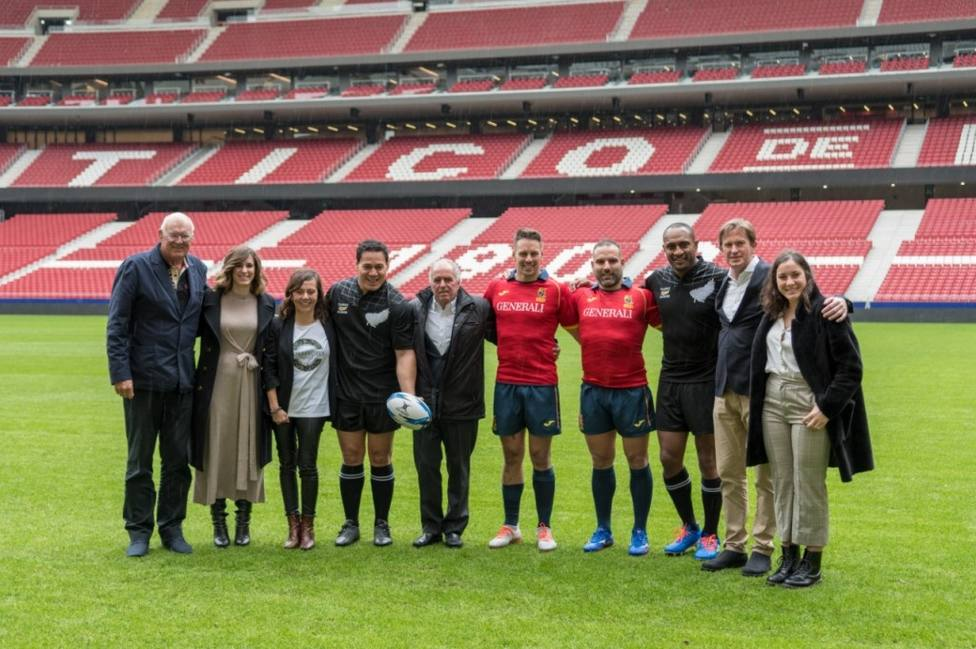 Rugby.- El España-Classic All Blacks se jugará en el Wanda Metropolitano en mayo de 2021
