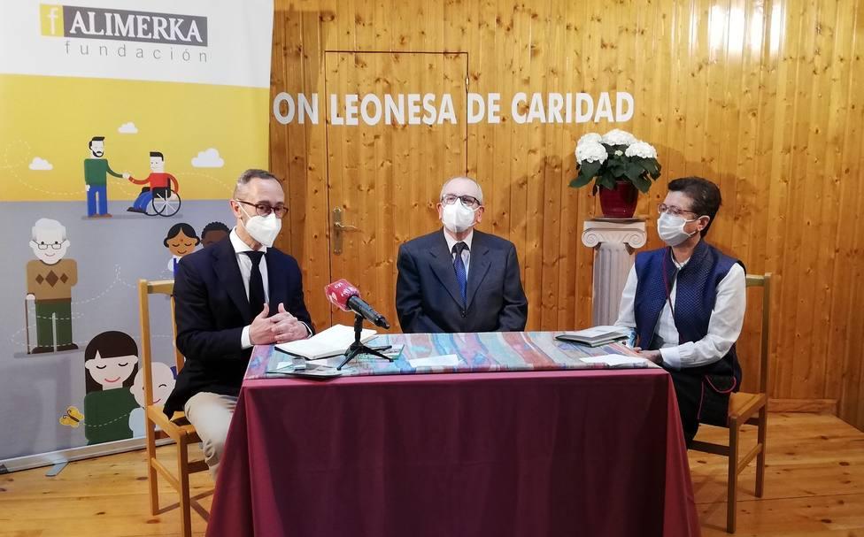 La Fundación Alimerka aportará 25.000 euros al comedor social de la Asociación leonesa de caridad