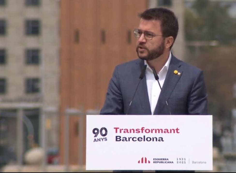 Aragonès (ERC) pide a Junts a dar el paso definitivo que permita formar Govern