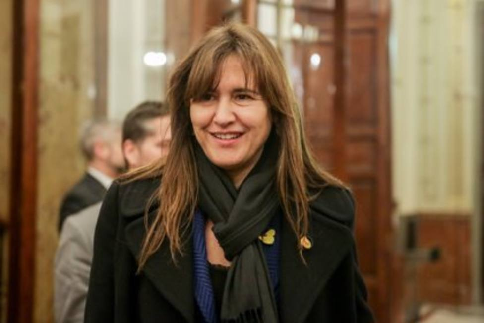 Laura Borràs, presidenta del Parlament