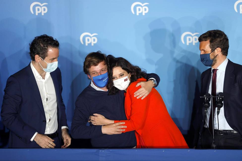 Ayuso gana hasta en Vallecas: el PP vence en los 21 distritos de la capital