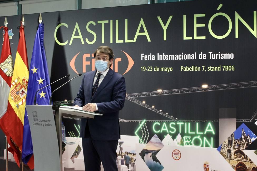 Tercera jornada de la Feria Internacional de Turismo (Fitur) en Madrid: