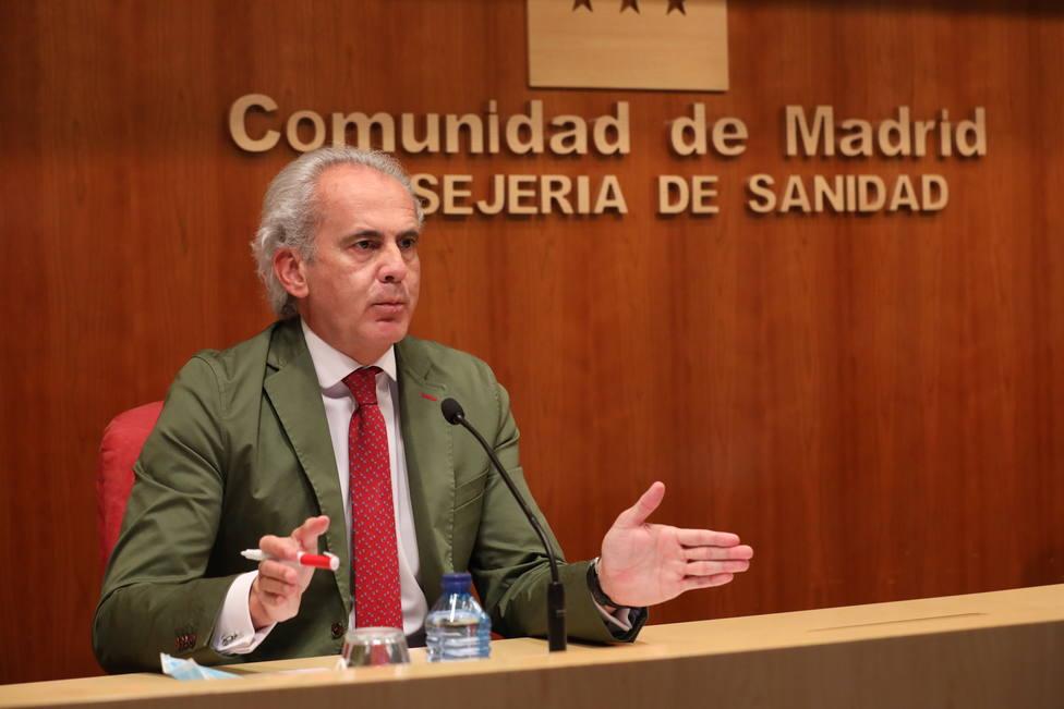 Madrid asegura que seguirá aplicando la normativa regional tras su discrepancia con Sanidad