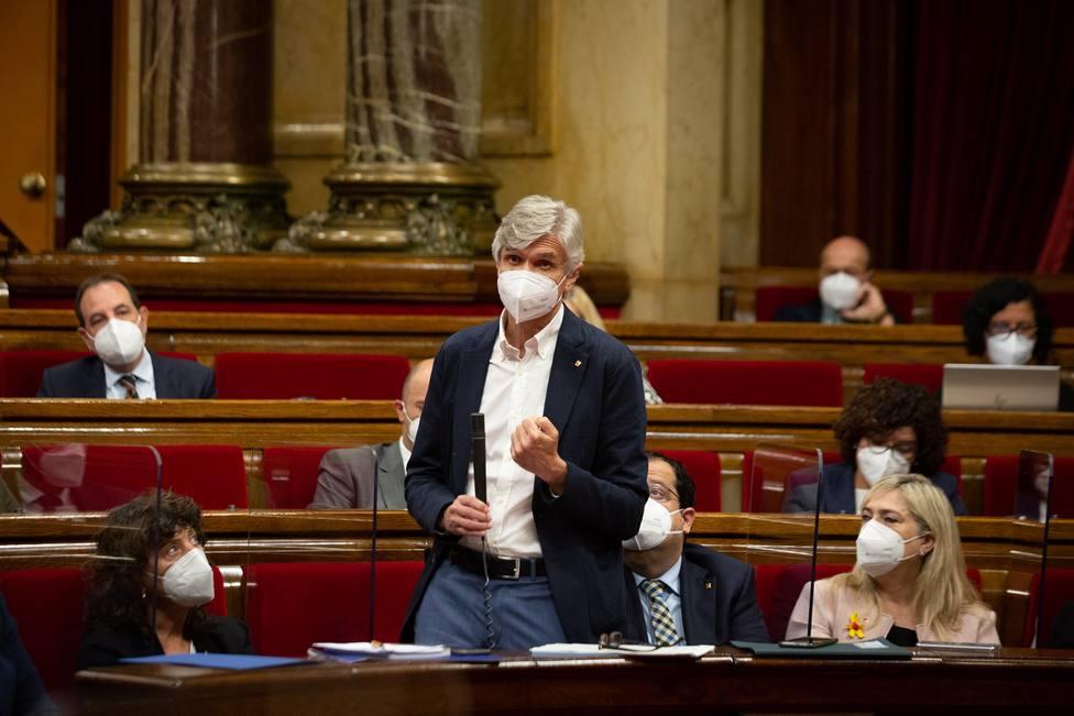 El conseller de sanidad Josep Maria Argimon