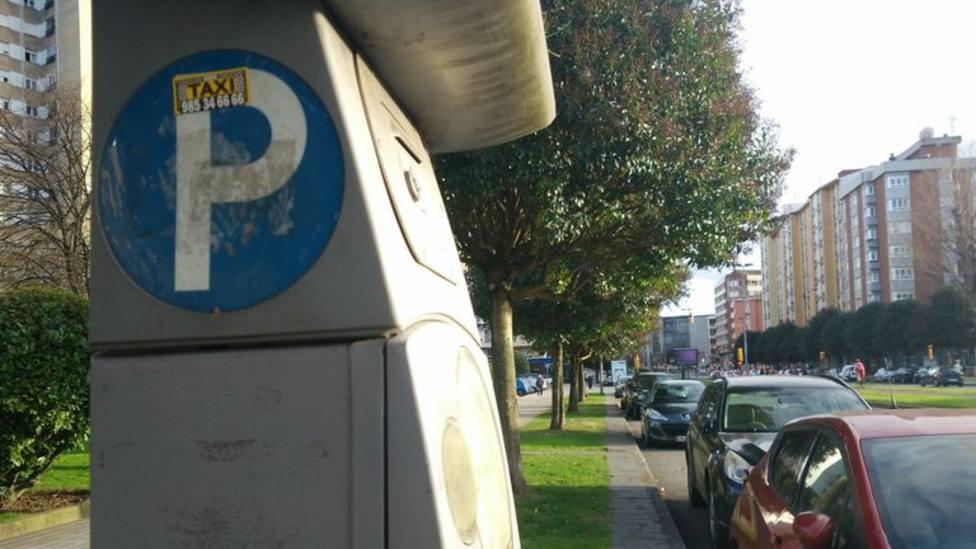 Parquímetro de Gijón