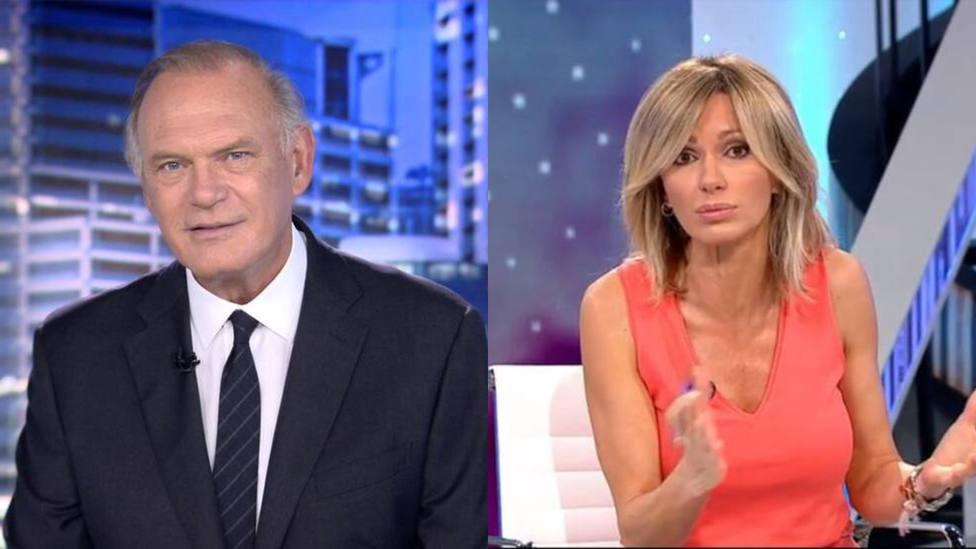 Pedro Piqueras y Susanna Griso rompen moldes al cruzar una línea roja de la televisión: imagen aplaudida