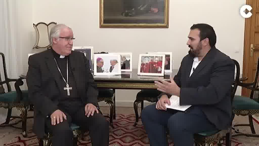 """Saiz Meneses y sus primeros meses como arzobispo de Sevilla: """"He descubierto una Iglesia con mucha vitalidad"""""""