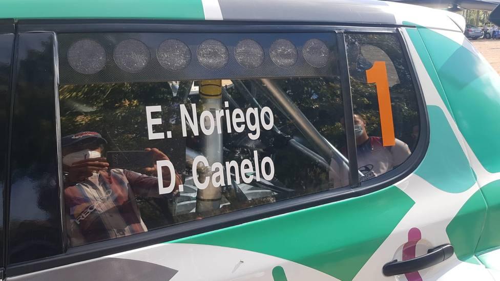 Skoda Fabia S2000 de Eduardo Noriego y Daniel Canelo. COPE Motor