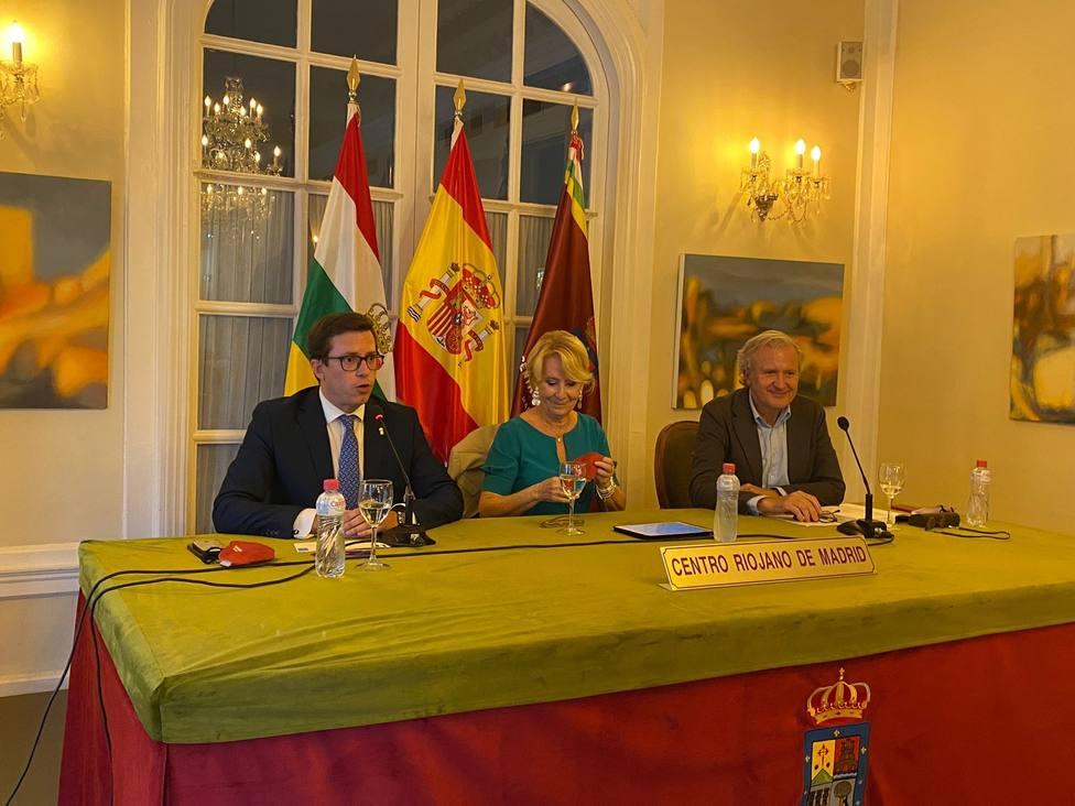 Esperanza Aguirre cree que Ayuso ganará las elecciones a la Presidencia de la Comunidad de Madrid
