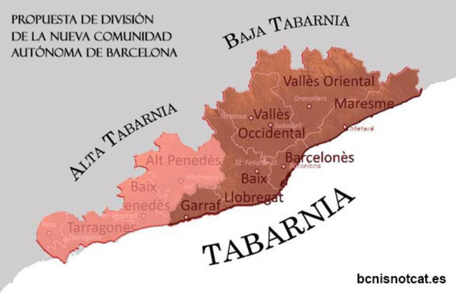 Tabarnia, el golpe de realidad del independentismo