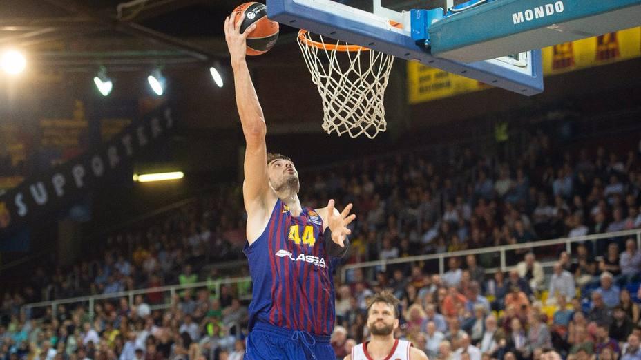 Ante Tomic, jugador del Barcelona (@FCBBasket)