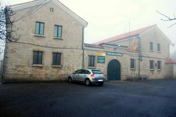Cuartel de la Guardia Civil en Valga