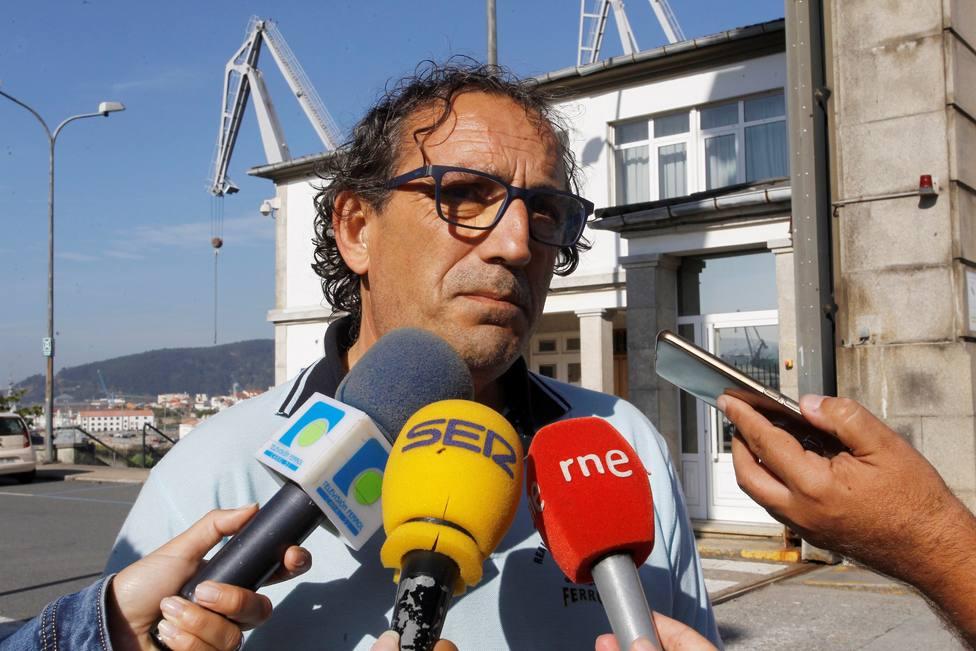 Javier Galán, president del comité de empresa de Navantia Ferrol - FOTO: Efe / Kiko Delgado