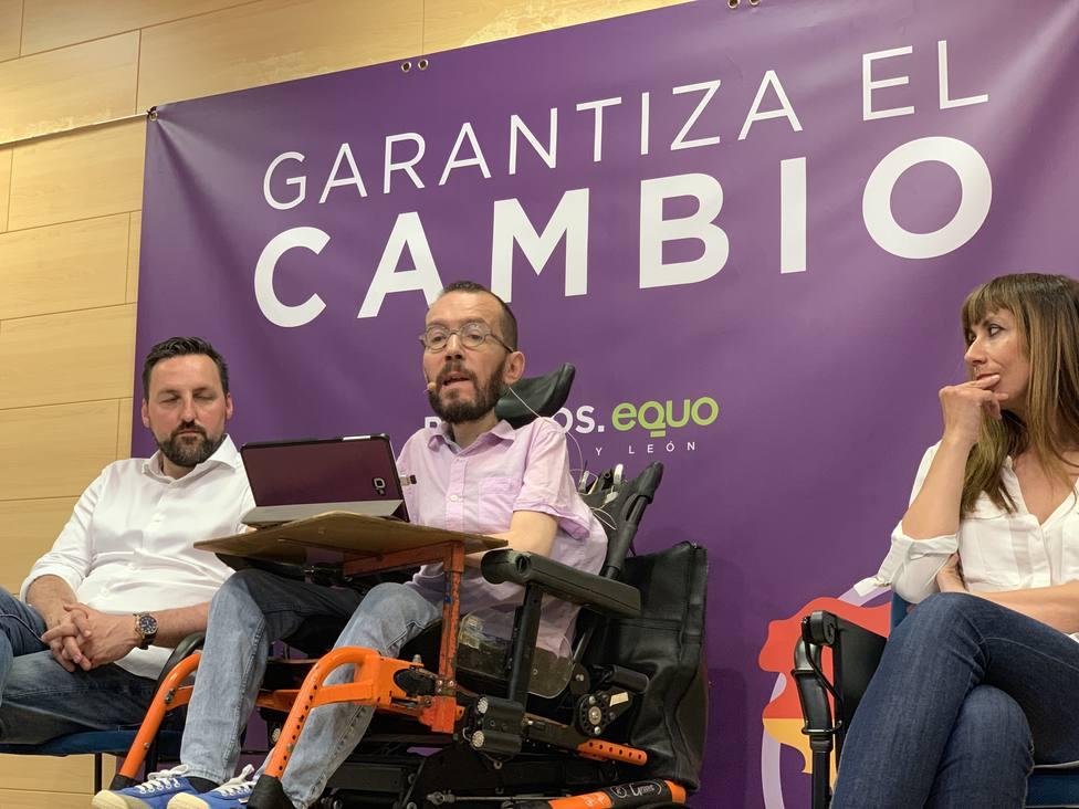 Echenique: Hay una manera muy efectiva de decirle a Sánchez con Rivera no y es votar masivamente a Podemos