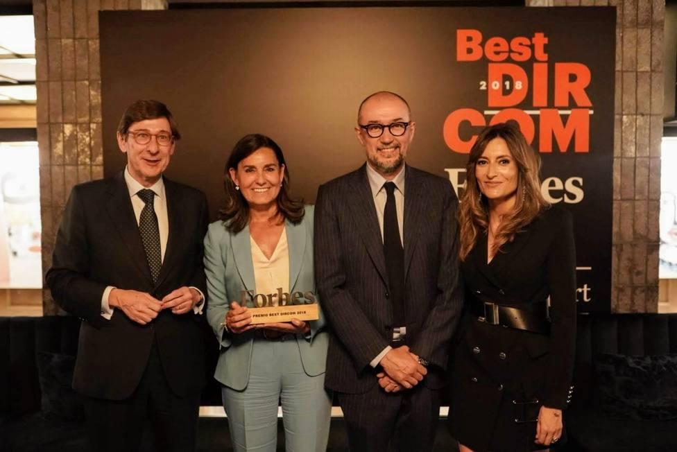 Amalia Blanco (Bankia), Premio Forbes Best Dircom 2018