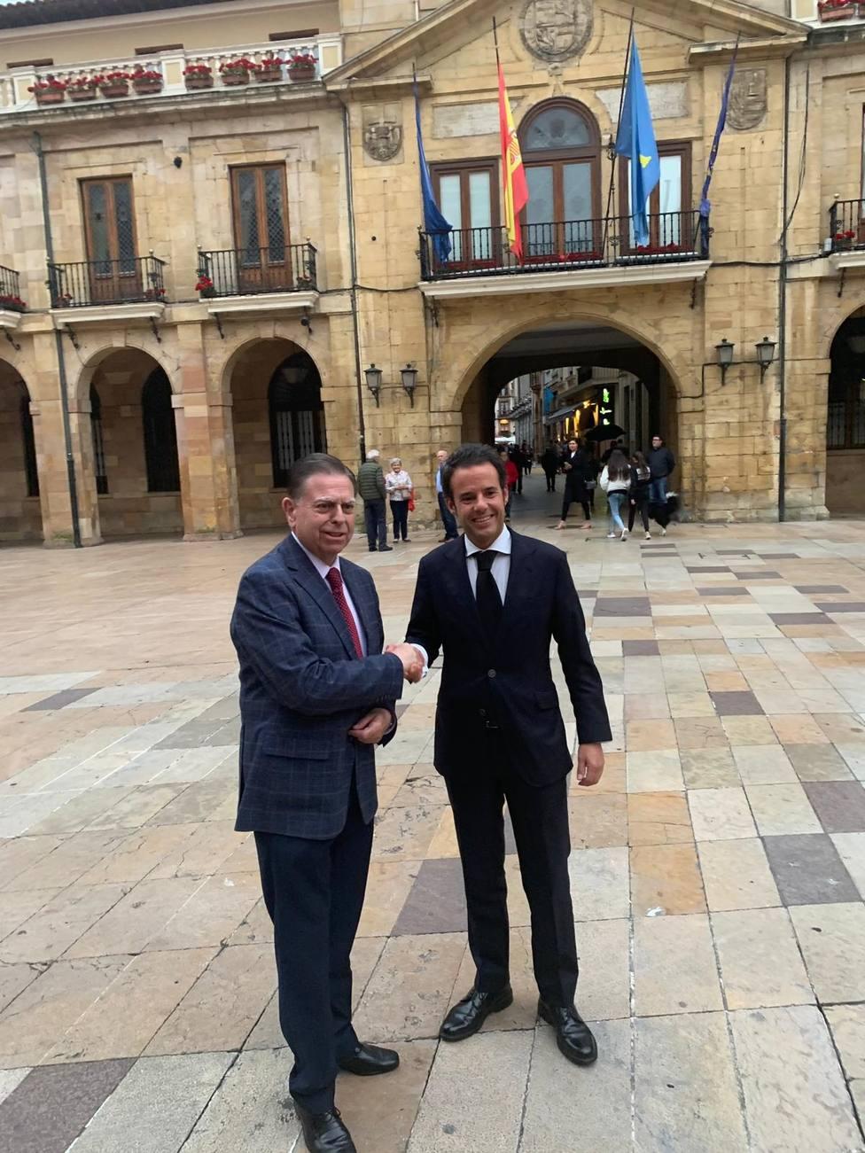 PP y Ciudadanos alcanzan un acuerdo en el Ayuntamiento de Oviedo