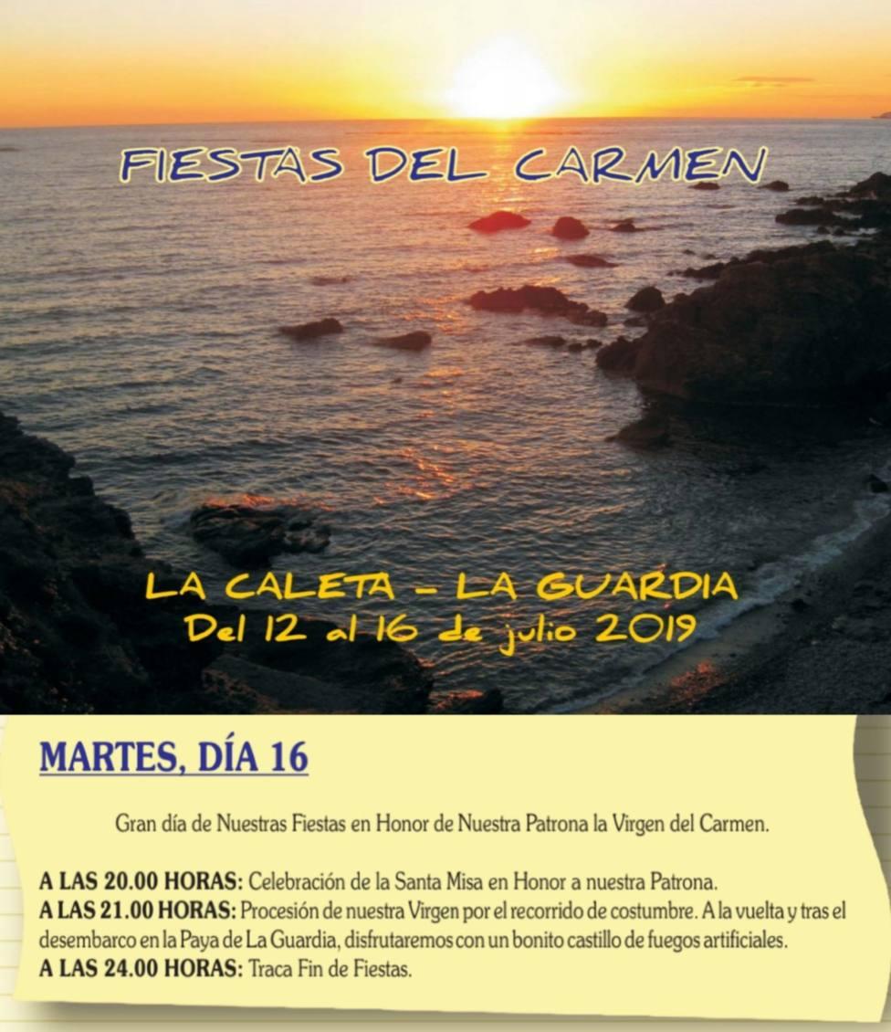 Fiestas en honor a la Virgen del Carmen en la Guardia y la Caleta de Salobreña