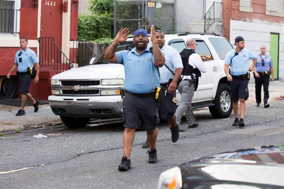 Así han sido los momentos de tensión durante el tiroteo de Filadelfia