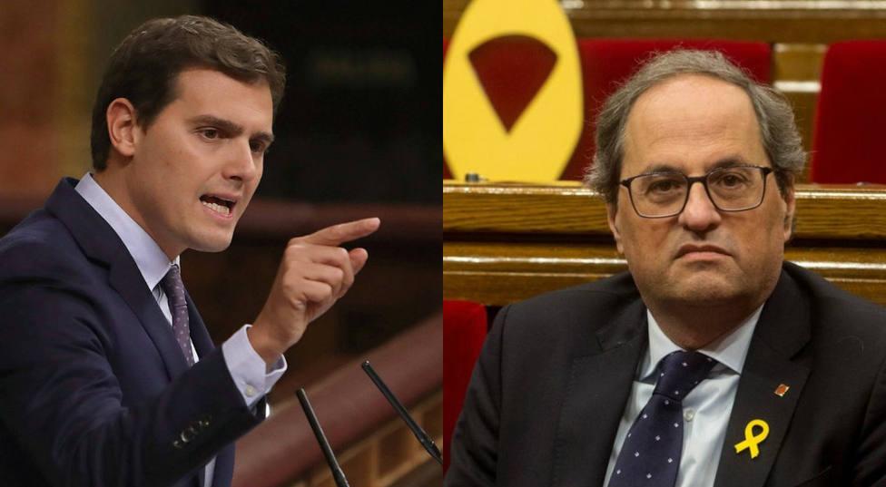 La tajante respuesta de Rivera a los independentistas por el bochorno en el Parlament contra la Guardia Civil