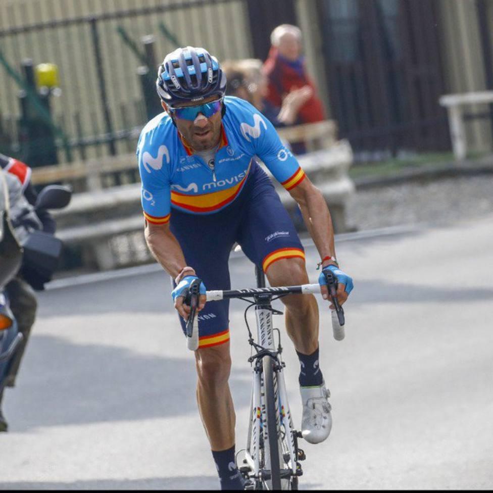 Alejandro Valverde cierra la temporada con un segundo puesto en Lombardia